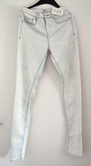 Asos Jeans skinny bleu pâle coton