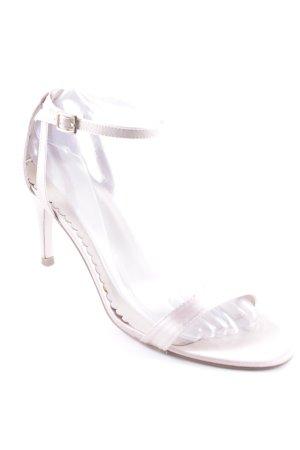 Asos Riemchen-Sandaletten hellrosa Elegant