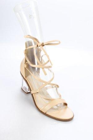 Asos Riemchen-Sandaletten nude klassischer Stil