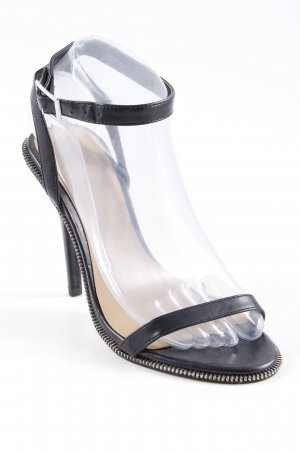 Asos Riemchen-Sandaletten schwarz-beige extravaganter Stil