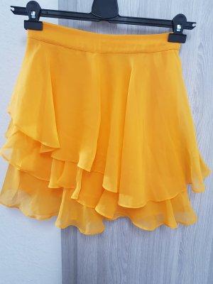 Asos Falda de tul naranja dorado