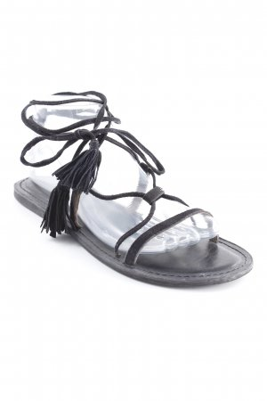 Asos Roman Sandals black beach look