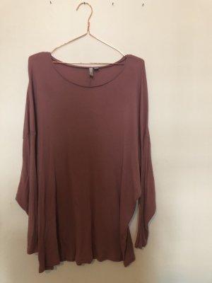 asos curve Geribd shirt roze