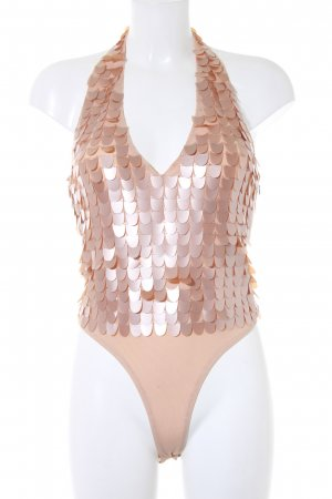 Asos Rugloze top nude extravagante stijl
