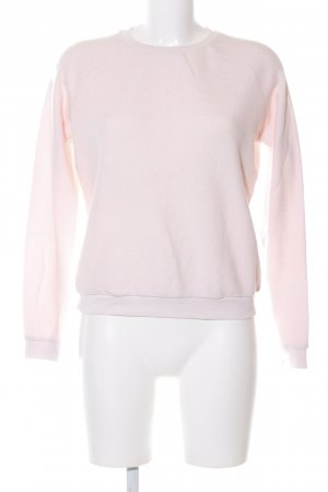 Asos Rundhalspullover pink Casual-Look