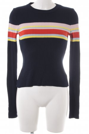 Asos Crewneck Sweater striped pattern '60s style