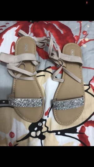 Asos Roman Sandals rose-gold-coloured-silver-colored
