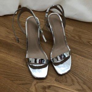 Asos Sandalen lichtgrijs-zilver