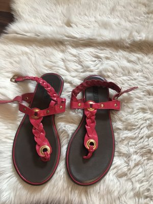 Asos Toe-Post sandals red