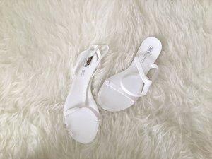 Asos Sandalias de tiras blanco