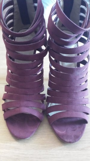 Asos High Heel Sandal purple imitation leather