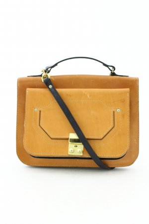 Asos Satchel cognac-coloured-black vintage look