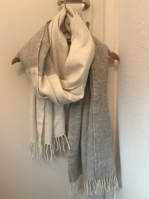 Asos Woolen Scarf white-silver-colored wool