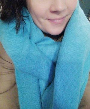 Asos Sciarpa con frange azzurro-turchese