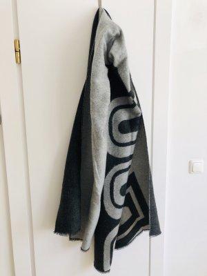 Asos Schal Wollschal schwarz grau