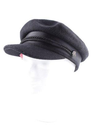 Asos Schirmmütze schwarz Marine-Look