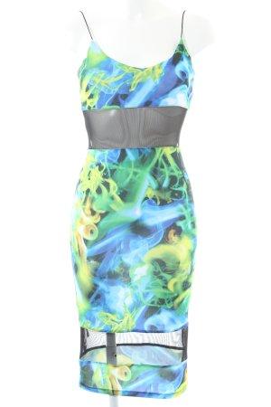 Asos Vestido de tubo estampado con diseño abstracto look casual