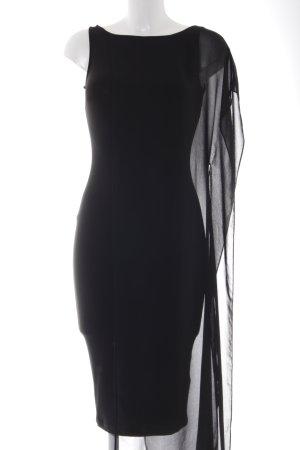 Asos Vestido de tubo negro look casual