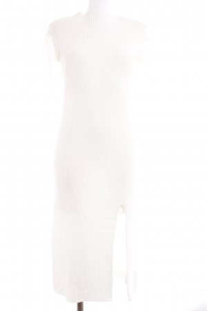 Asos Tube Dress natural white fluffy