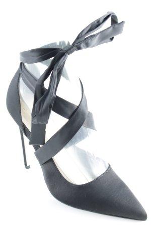 Asos Schnür-Pumps schwarz-hellbeige Elegant
