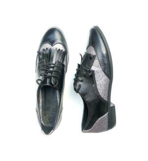 Asos Scarpa Oxford nero-argento