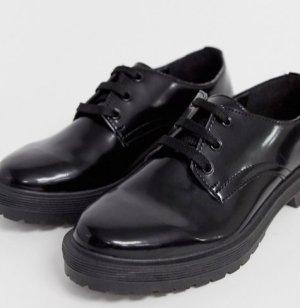 Asos Lace Shoes black