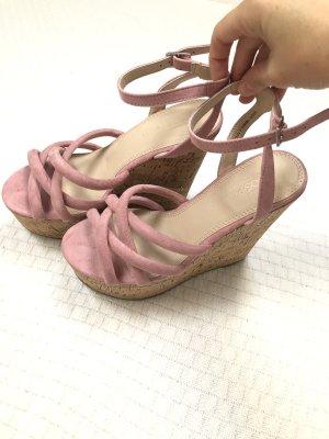 Asos Heel Pantolettes dusky pink