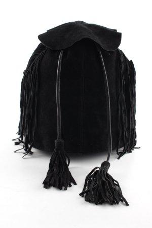 Asos Schulrucksack schwarz Street-Fashion-Look
