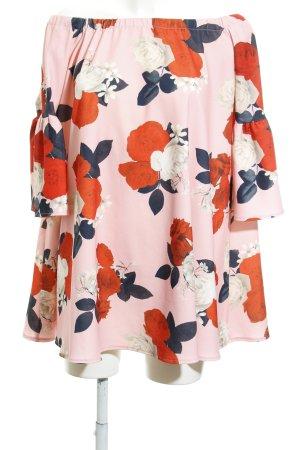 Asos Off the shoulder jurk bloemenprint Jaren 90 stijl