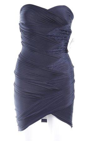 Asos Off the shoulder jurk donkerblauw elegant