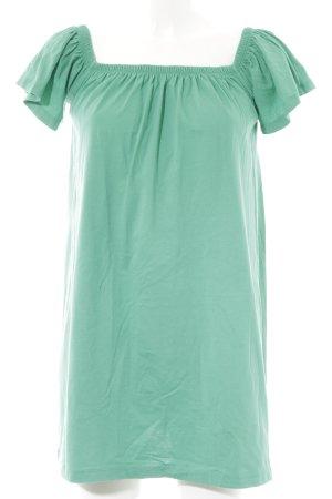 Asos Off the shoulder jurk groen casual uitstraling