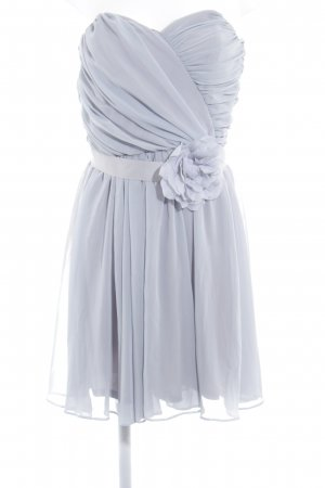 Asos Off the shoulder jurk lichtgrijs elegant