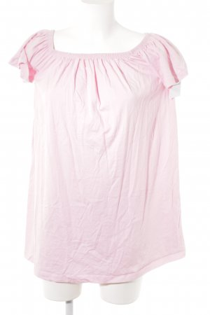 Asos Off the shoulder jurk roze casual uitstraling