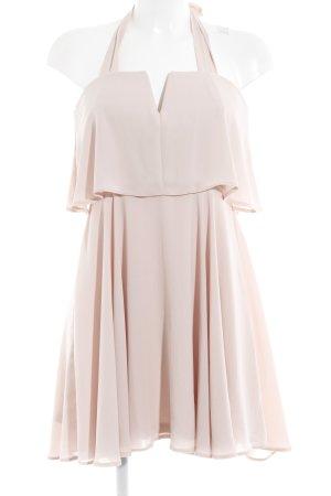 Asos Robe épaules nues rosé style romantique