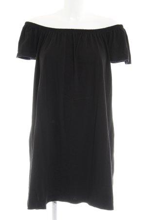Asos schulterfreies Kleid schwarz Casual-Look