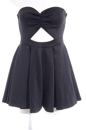 Asos Off the shoulder jurk zwart feest stijl