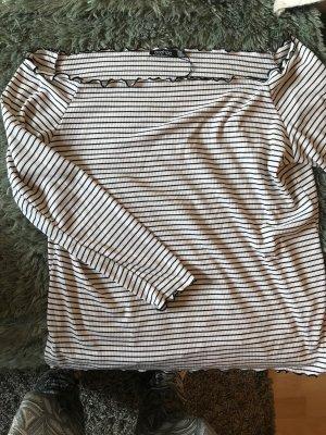 Asos schulterfreies langarm Shirt