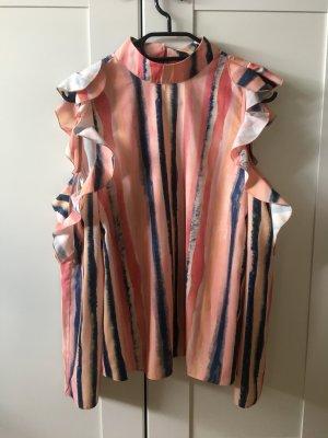 Asos Ruche blouse veelkleurig