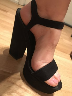 ASOS Schwarze Pump Sandalette
