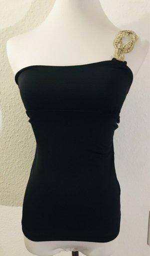 Asos One Shoulder Top black