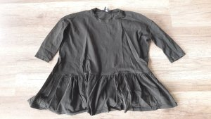Asos Shirt Acid Wash Peplum Volant 36