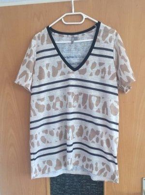 Asos Shirt gr. 40 nude Blogger Muster