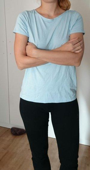 Asos Shirt in himmelblau, Rückenfrei