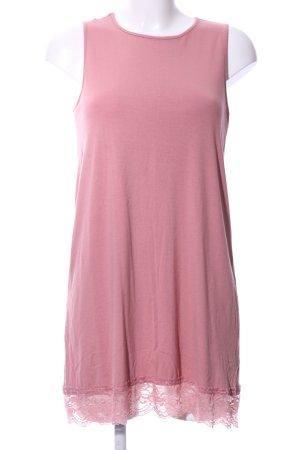 Asos Vestido estilo camisa rosa empolvado look casual