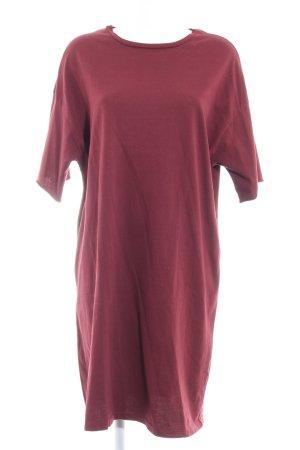 Asos Shirt Dress brown red casual look