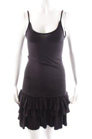 Asos Shirtkleid schwarz