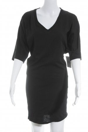 Asos Shirtkleid schwarz Business-Look