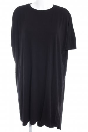 Asos T-shirt jurk zwart simpele stijl