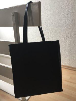Asos shopper, Kunstleder, schwarz