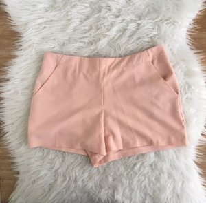 ASOS Shorts Nude Rosa Rose  36 S Top Hotpants Chino Sommer Highwaist Apricot